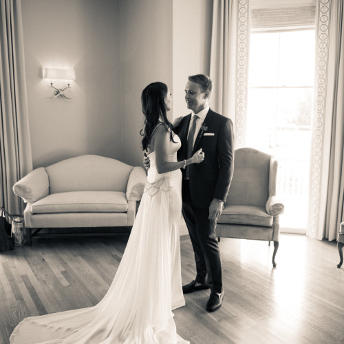 Eisenhower House Wedding | Emily & Quentin