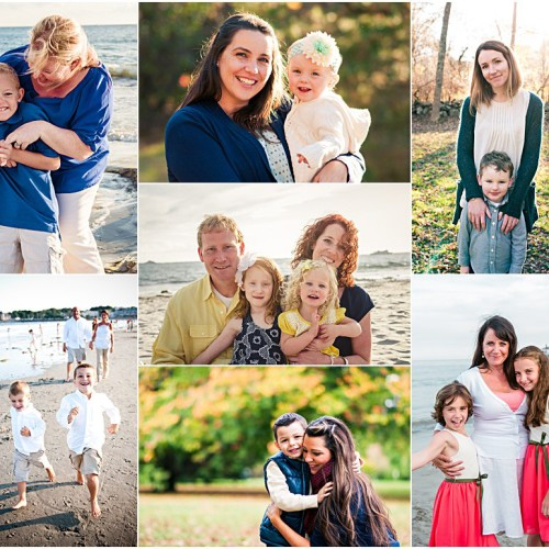 Make Mom Happy! | RI Mother's Day Portrait Sessions