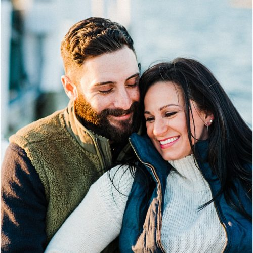 Newport Winter Engagement Session