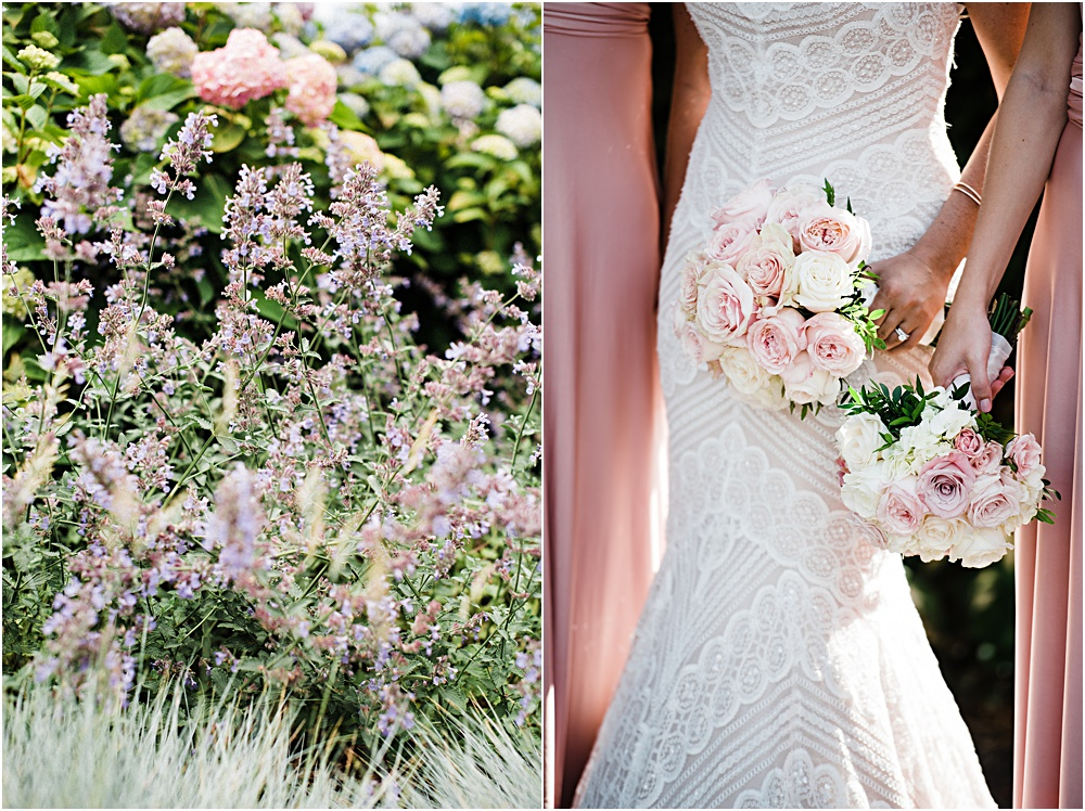 bouquet and lilacs